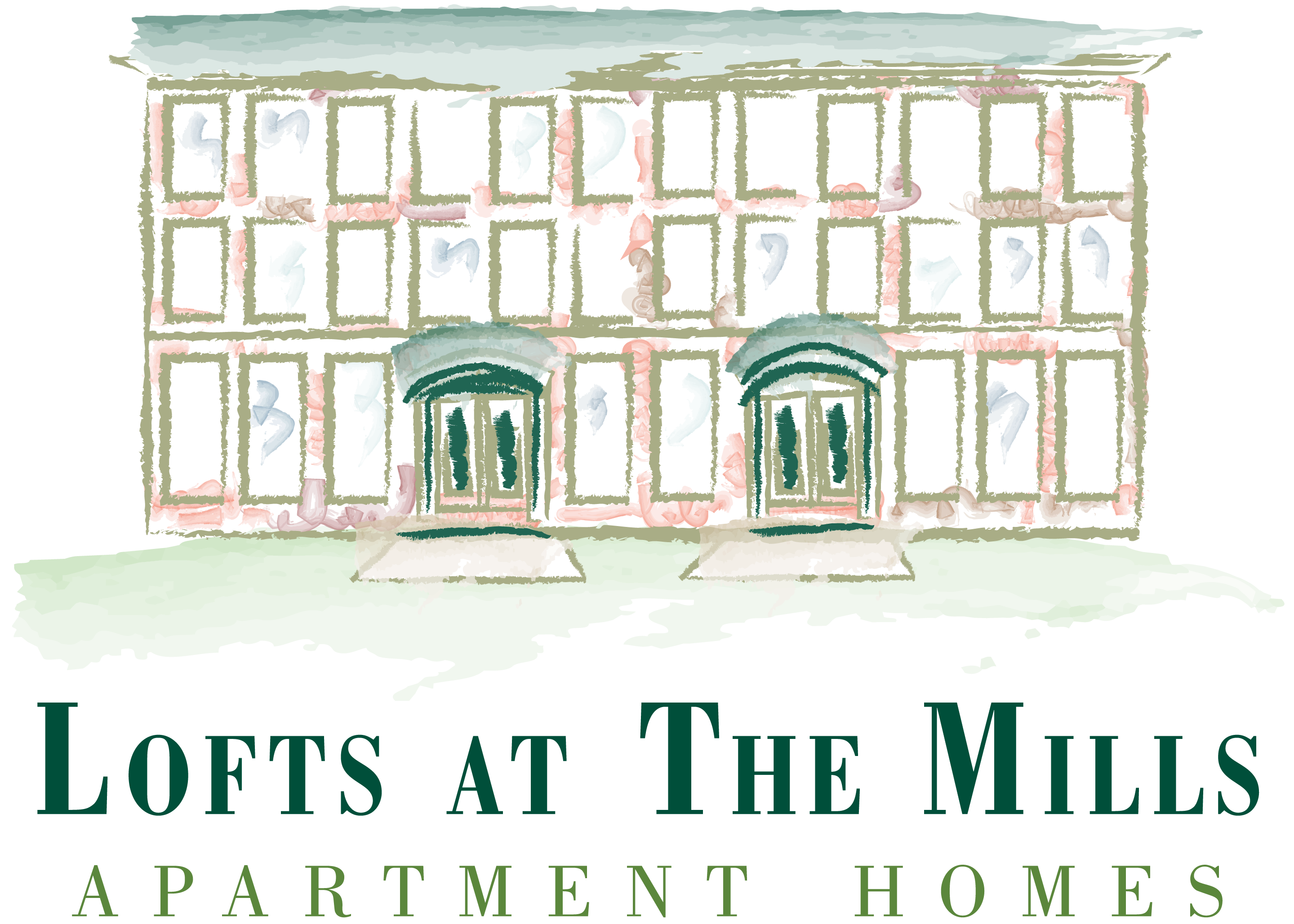 Lofts at the Mills Logo